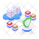 Cloud Protection Storage Protection Cloud Safety Icon