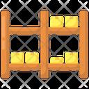 Storage Rack Icon