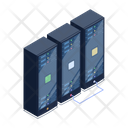 Server Room Database Servers Data Servers Icon