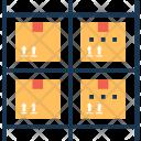 Storage Racks Icon