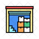 Supermarket Storage Color Icon