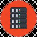 Storage Server Server Rack Electronic Dataserver Icon