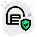 Storage Shield Parcel Shield Package Shield Icon