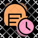 Storage Time Icon