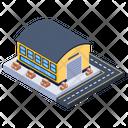 Depot Storage Unit Warehouse Icon