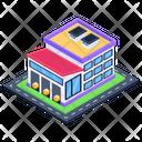 Depot Storehouse Warehouse Icon