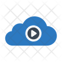 Video Cloud Media Icon