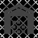 Store Warehouse Godown Icon