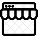 Store Ecommerce Online Icon
