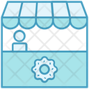 Bakery Store Market Icon