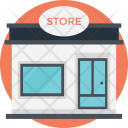 Store Building Shopping Icon