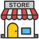 Store Grocery Town Icon