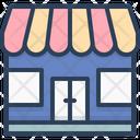 Shop Ecommerce Market Icon