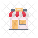 Store Bakery Shop Icon