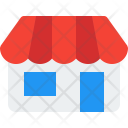 Storefront Shopping Building Icon