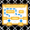Store Movement Map Icon