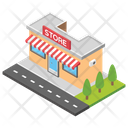 Store Shopping Mall Market Icon