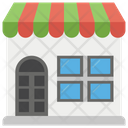 Store Shopping Mall Supermarket Icon