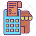 Store Bills Store Invoice Shop Bill Icon