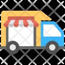 Store Delivery Van Icon