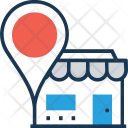 Store Location Map Icon