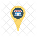 Map Location Store Icon