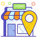 Market Place Outlet Storehouse Address Icon
