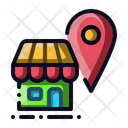 Store Location Shop Icon