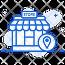 Store Location Shop Location Gps Icon