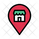 Store Map Shop Icon