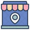 Location Pin Navigation Ecommerce Icon