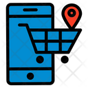 Store Location Buy Cart Icon