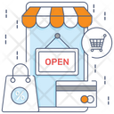 Store Open Icon