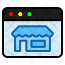 Store Page Ecommerce Shop Icon