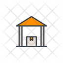 Storehouse Warehouse Storage Icon