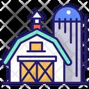 Storehouse Burn Warehouse Icon