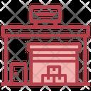 Storehouse Warehouse Distribution Icon