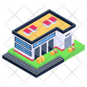 Depot Storehouse Building Warehouse Icon