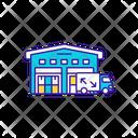Warehouse Management Shipping Icon