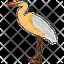 Stork Bird Fly Icon