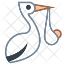 Stork Bundle Icon