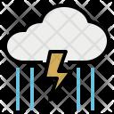 Storm Thunder Rain Icon
