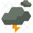 Storm Clouds Thunder Icon