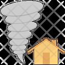 Storm Insurance Damage Icon