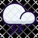 Lightening Thunder Weather Icon