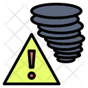 Danger Storm Disaster Icon