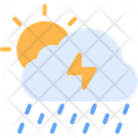 Storm Weather Cloudy Icon