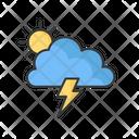 Storm Weather Forecast Icon