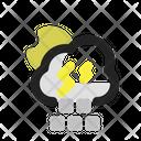 Storm Snow Moon Icon