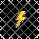 Storm Lightning Forecast Icon